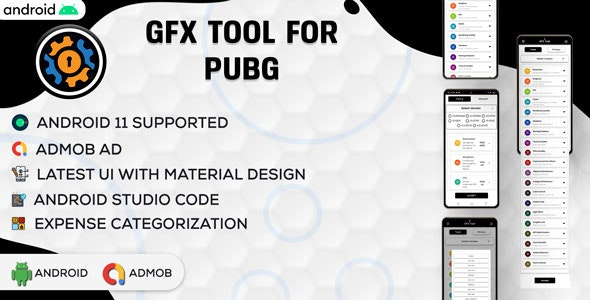GFX Tool For PUBG | Game Booster | BGMI GFX | Android App Full Code | Admob Ads | v3.0 - CodeCanyon Item for Sale