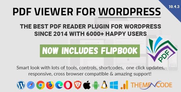 PDF viewer for WordPress v10.4.3