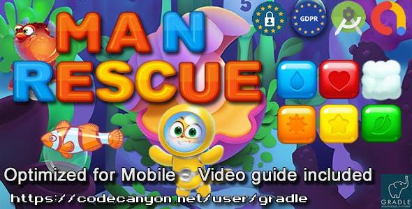 Man Rescue (Admob + GDPR + Android Studio)