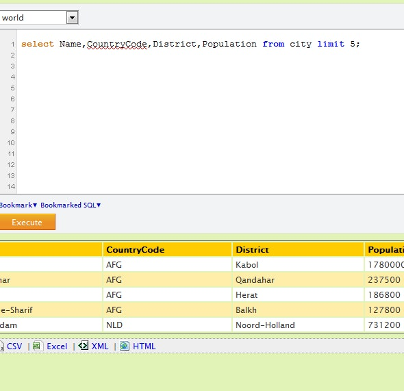 Enhanced SQL Web Console for MySQL - CodeCanyon Item for Sale