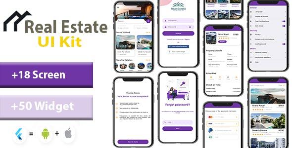 Real Estate Flutter App UI Kit