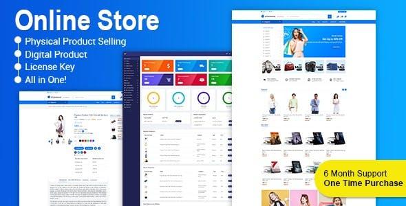 Online Store - Subscription Based Multi Vendor eCommerce Platform