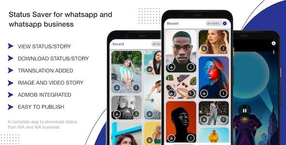 Status Saver for whatsapp & Whatsapp business android app