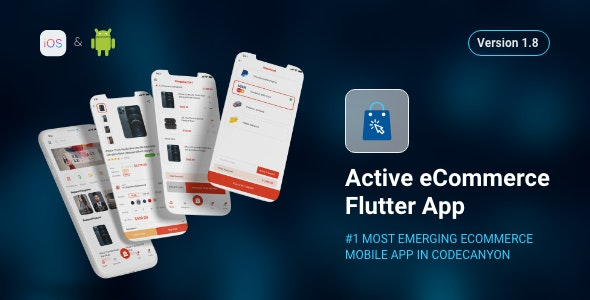 Active eCommerce Flutter App - CodeCanyon Item for Sale