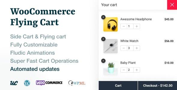 WooCommerce Flying Cart