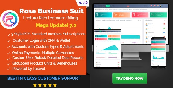 Rose Business Suite v7.0 b100 – Accounting, CRM and POS Software