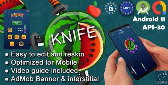 Knife (Admob + GDPR + Android Studio)