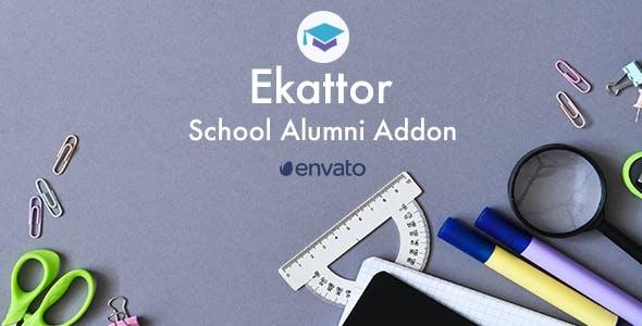 Ekattor School Alumni Addon