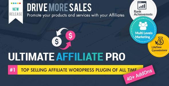 Ultimate Affiliate Pro WordPress Plugin - CodeCanyon Item for Sale
