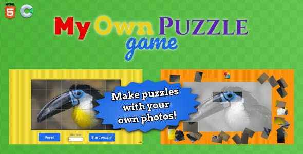 My own puzzle - HTML5 Puzzle Game