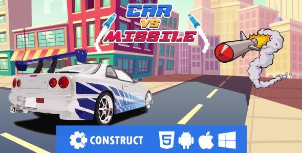 Car vs Missile - HMTL5 Mobile Game