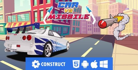 Car vs Missile - HMTL5 Mobile Game - CodeCanyon Item for Sale