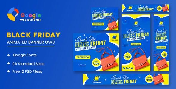 Sale Bag Woman Banner HTML5 Banner Ads GWD