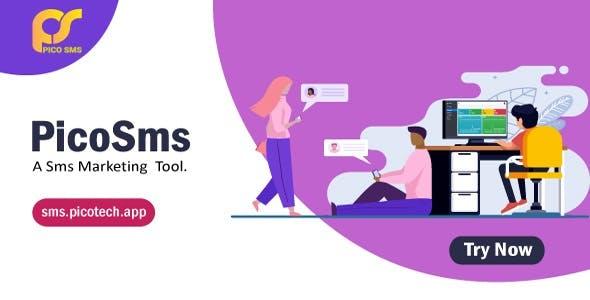 PicoSMS - A Bulk SMS Marketing Tool
