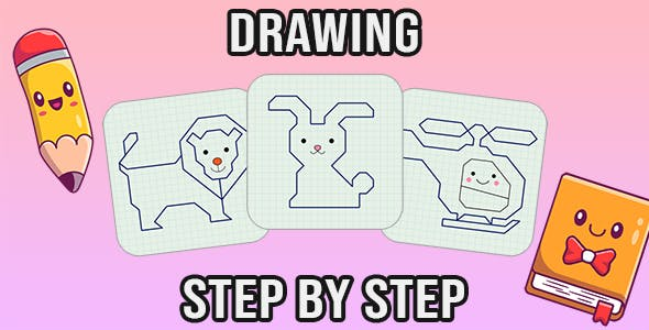 Drawing step by step (PC & Mobile)