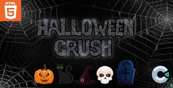 Halloween Crush - HTML5 - Casual Game