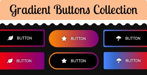 Gradient Buttons Collection