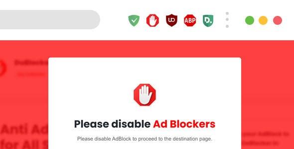 DUBlocker – Anti AdBlock jQuery Plugin