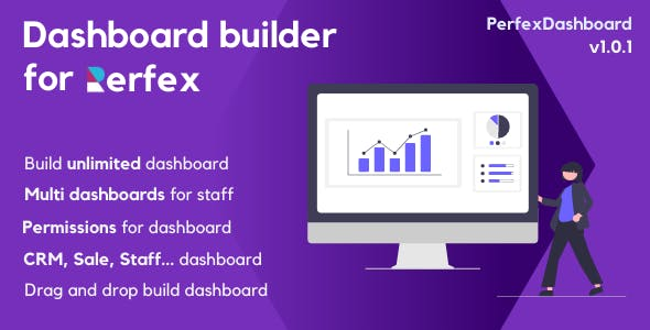 PerfexDashboard - Dashboard builder for PerfexCRM