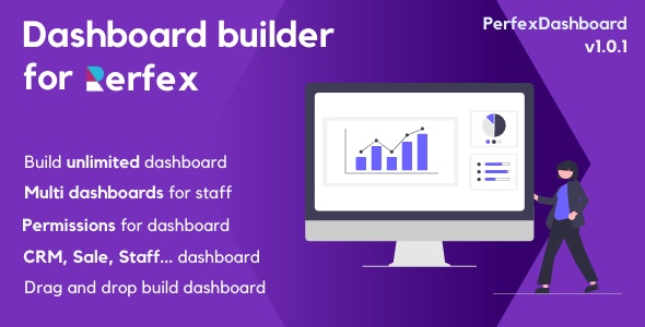 PerfexDashboard - Dashboard builder for PerfexCRM - CodeCanyon Item for Sale