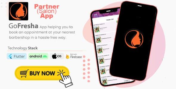 GoFresha Partner/ Salon App | Nearby Salon, Spa & Barber Appointment Flutter App
