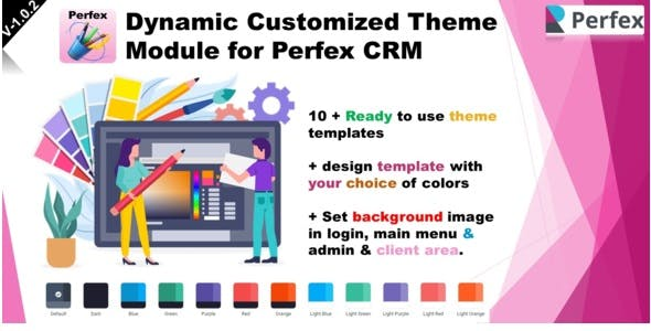 Dynamic Customized Theme Module for Perfex CRM