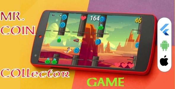 MR. Coin Collector Flutter 2D Game