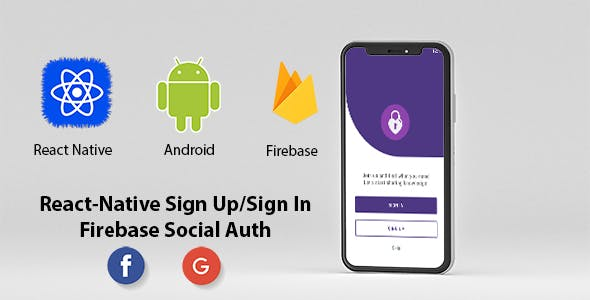 React Native Authentication System with firebase