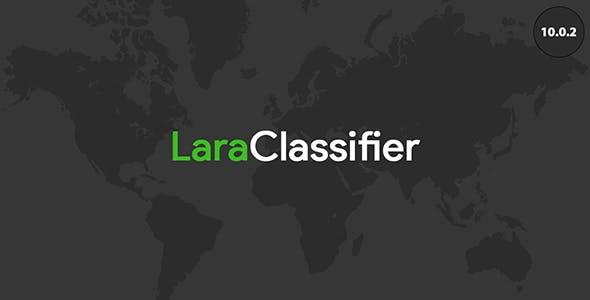 LaraClassifier - Classified Ads Web Application