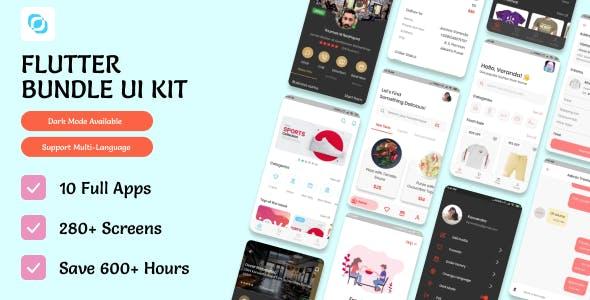 Flutter UI Master Kit