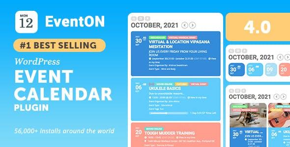 EventON - WordPress Virtual Event Calendar Plugin