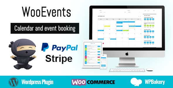WooEvents v3.6.8 – Calendar and Event Booking