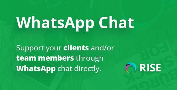 WhatsApp plugin for RISE CRM