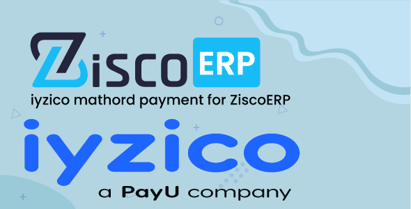 Iyzipay payment gateway for ZiscoERP
