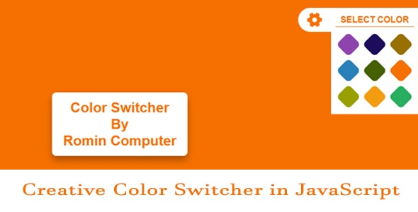 Creative Color Switcher in JavaScript - CodeCanyon Item for Sale