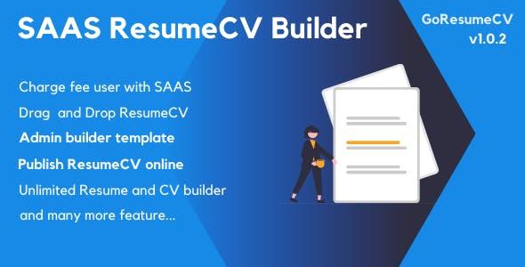 GoResumeCV - SAAS Resume Builder Online