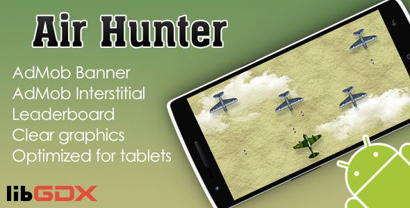 Air Hunter with AdMob and Leaderboard