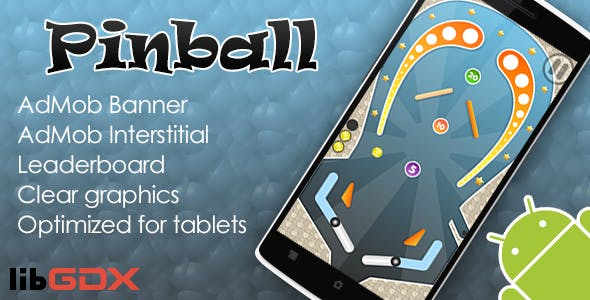 Pinball with AdMob and Leaderboard