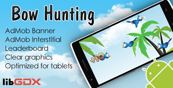 Bow Hunting with AdMob and Leaderboard - CodeCanyon Item for Sale