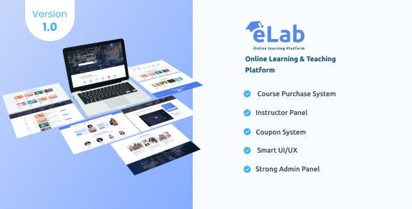 eLab - Online Learning And Teaching Platform
