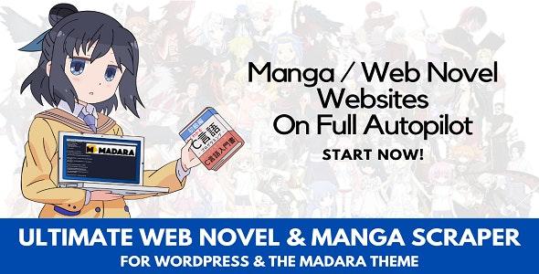 Ultimate Web Novel and Manga Scraper - CodeCanyon Item for Sale