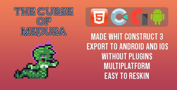 The curse of Medusa - Template for Construct 3
