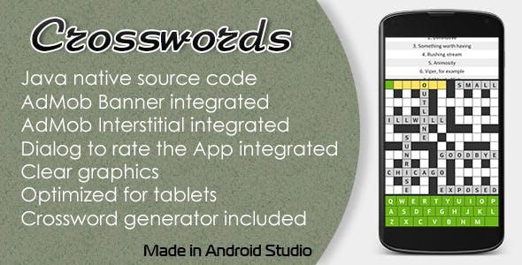 Crosswords with AdMob
