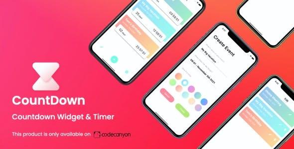CountDown App (iOS)   Countdown Widget & Timer