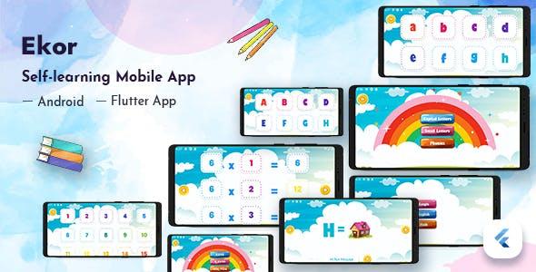 Ekor - Kids Self Learning Flutter App