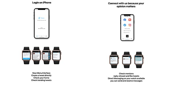 MiniTwitter for Apple Watch
