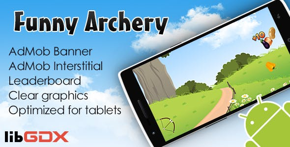 Funny Archery with AdMob and Leaderboard