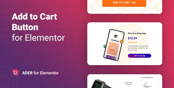 Ader v1.0.1 – Add to Cart Button for WooCommerce