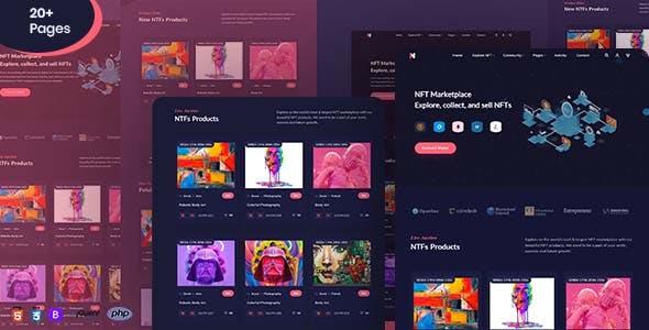 NftMarket | NFT Marketplace HTML Template