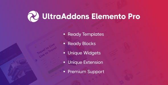 UltraAddons Elementor Pro - Elementor Addons Plugin for WordPress